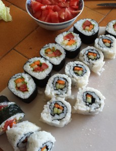 makis et california rolls