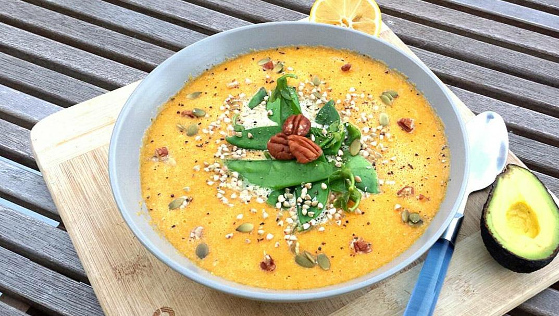 RECETTE: Soupe de Citrouille…crue!
